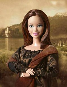 Is this a Mona Lisa Barbie??