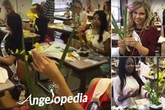 The Miss International 2016 contestants at Japanese Floral Art School