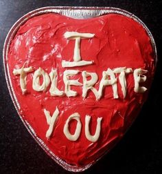 Hmm. yes. Tolerate.