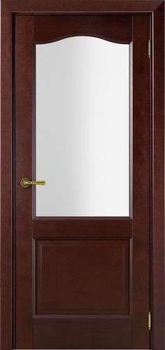 Sarto Interio NS 1224 Interior Door Satin Glass Red Tree Mocco
