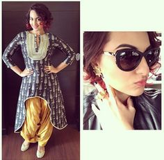 Top Indian fashion and lifestyle blog: What Sonakshi Sinha wore today
