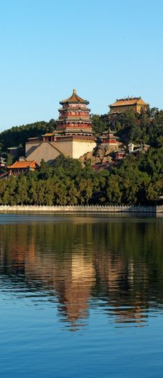Beijing's massive Summer Palace.