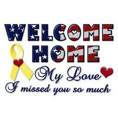 welcome home signs for military - Google Search