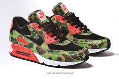 Duck Camo..nike air max 90 - hell yes WANT!