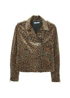 Christmas 2016/ 2017 Trends: leopard print biker jacket