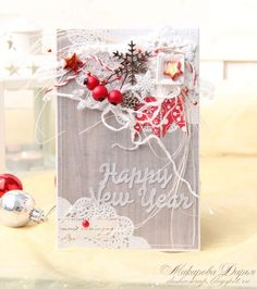 Итоги задания №89. Новогодняя открытка с флажками (via Bloglovin.com )