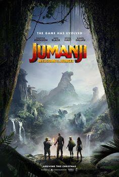 CINEMA unickShak: JUMANJI: EN LA SELVA - JUMANJI: WELCOME TO THE JUNGLE / cinemas MEXICO and USA