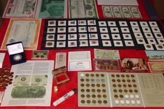 #coins HUGE AUCTION!! ~ US COIN COLLECTION LOT #105 ~ GOLD ~ SILVER ~ ESTATE ~ BID NOW! please retweet