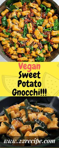 Vegan Sweet Potato Gnocchi!!! - 22 Recipe