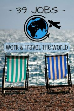 Work and travel your way around the world - Discover the ultimate freedom with the best travelling nomad jobs...