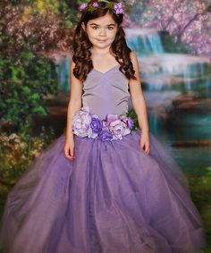 Look at this #zulilyfind! Enchanted Fairyware Couture & More Lavender Fairy Princess Dress - Toddler & Girls by Enchanted Fairyware Couture & More #zulilyfinds