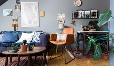In Copenhagen, only 32 square meters | colored house