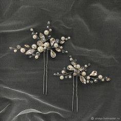 Wedding Hair Pins, Bridal Hair Vine, Wedding Hair Accessories, Hair Wreaths, Hair Decorations, Hair Beads, Crown Hairstyles, Pearl Hair, Bridal Headpieces