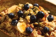 Waking up is easy with this incredible hot oat and quinoa porridge