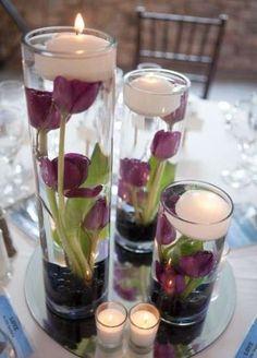 Decoración boda en tonos lavanda: fotos ideas originales - Originales…