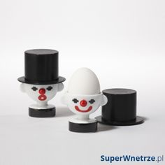 Podstawka na jajko PO: Trendy klaun 705