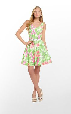 Freja Dress in New Green Everything Nice $188 (w/o 3/16/13) #lillypulitzer #fashion #style