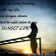 Sunset life...*-*
