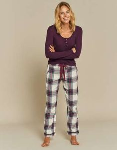 Lazy Sundays just got a whole better with the FatFace women's nightwear. We've got lounge pants, pretty tops and cosy dressing gowns for you to wrap up in. Christmas Gift Inspiration, Fat Face, Lounge Pants, Nightwear, Soft Fabrics, Tartan, Harem Pants, Pajamas, Dressing