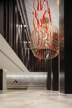 Marco Polo Gateway Hotel, Hong Kong designed by CL3 Architects