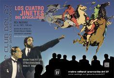 Publicidad Generación del 27. Cine Club del 27.