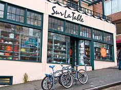 The first Sur La Table, Seattle (Pike Place Market)