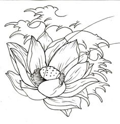 8 Best Images of Free Printable Wave Stencil - Printable Ocean Waves Stencil, Ocean Wave Stencils and Waves Quilting Border Stencils Printable Flower Outline Tattoo, Flower Tattoo Stencils, Lotus Flower Tattoo Meaning, Small Lotus Flower Tattoo, Flower Tattoo On Ankle, Flower Tattoo Meanings, Beautiful Flower Tattoos, Flower Tattoo Designs, Lotus Tattoo Design