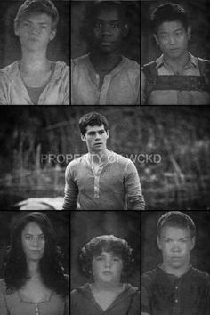 Maze runner characters Maze Runner The Scorch, Maze Runner Series, Maze Runner Characters, The Scorch Trials, Thomas Brodie Sangster, Dylan O'brien, Teen Wolf, Books, Tbs