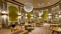 The French restaurant set within the Grade II listed Midland hotel in Manchester. Manchester Restaurants, Manchester Hotels, Visit Manchester, Manchester Food, Midland Hotel, Niche Design, French Windows, French Restaurants, Restaurant Furniture