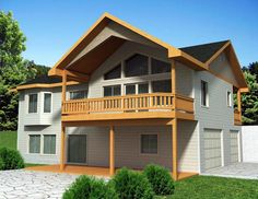 House Plan 85355    Plan with 2448 Sq. Ft., 3 Bedrooms, 3 Bathrooms, 3 Car Garage