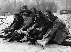 Skating, 1947