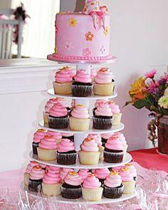 Layered baby shower cake http://www.marthastewart.com/274617/your-best-baby-shower-cupcakes/@center/276944/cupcakes#/189977