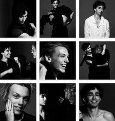 Jamie Campbell Bower (to play Jace Wayland) and Robert Sheehan (to play Simon Lewis) of The Mortal Instruments: City of Bones. Photoshoot for InStyleUK. Watch the YouTube video of their shoot and interview, it's literally wonderful. It'll make you smile. They were extremely playful in the shoot, also appropriately  representing themselves and their personalities.
