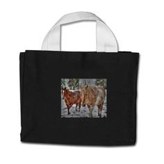 Horse-lovers Equine Ranch Horse Photo Canvas Bag