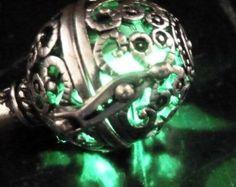 Collar Steampunk encanto de magia fuego hada por UmbrellaLaboratory
