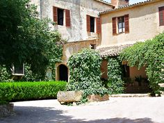 'Tuscan Mansion in Tuscany, Italy. Fine Art Photograph' Coasters by grammy