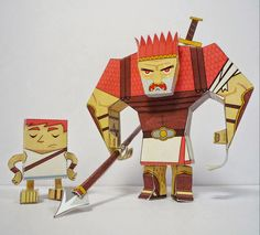 CreativeJWs: Other Paper Toy Downloads | these are fun. Several different ones. Think we are going to try the publishers to go along with this months campaign for this weeks activity.