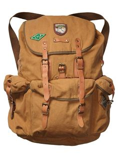Rucksack With Badge > Mens Clothing > Accessories at Scotch & Soda