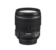 CANON  EF-S 15-85 mm f/3.5-5.6 IS USM Zoom Lens Price: £ 509.00 Fit the Canon EF-S 15-85 mm f/3.5-5.6 IS USM Zoom Lens to enjoy a high standard of performance in an all-round standard zoom lens. Capture better photos thanks to a combination of an extensive zoom range with wide angle and telephoto plus a 4-stop Image Stabilizer, delivering outstanding performance and flexibility. Amazing zoom...