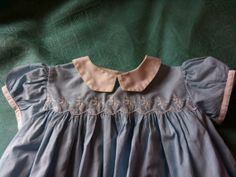 1950s Vintage Kate Greenaway Toddler Dress by quinntrading on Etsy, $22.00