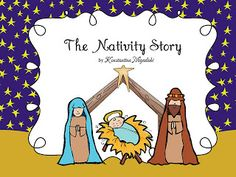 The Nativity story in a simple and comprehensive way for children in Pre-K and Kindergarten. You can use this in the reading/literacy center, as an emergent reader or for group reading. It is also appropriate for a great (hi)story sequence activity!  It includes five printable worksheets and a cut and paste craft (manger). $6