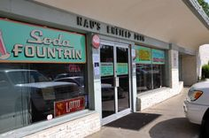 Nau's Enfield Drug. This old-fashioned drug store and food counter is located at 1115 W. Lynn Austin, TX 78703.