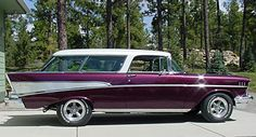 1957 Chevy Nomad - Beautiful!