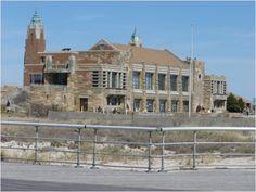 Historic building at Jones Beach in Long Island New York.