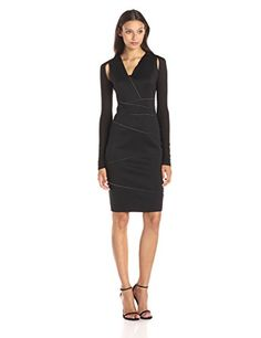 Elie Tahari Women's Reversible Alexia Neoprene Sheath Dress, Black/White, 0 Elie Tahari http://www.amazon.com/dp/B00WSUGE3W/ref=cm_sw_r_pi_dp_33I7vb1BZ5B1B