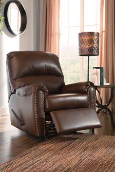 Lottie Durablend Chocolate Recliner