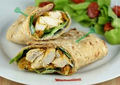 It couldn't be easier to make your own chicken tikka for sandwiches using this simple oven bake method! Plus a delicious sandwich wrap recipe to use it in!