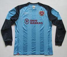 HEART OF MIDLOTHIAN SCOTLAND 2010/2011 GOALKEEPER FOOTBALL SHIRT UMBRO M HEARTS