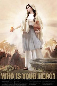 Rebekah ~ a servant, chosen by G-d to be the wife of Yitzhak, the future lineage of the Twelve Tribes of Israel & ultimately Mashiach YESHUA (Jesus) from the Tribe of Yehudah. Gen 49:10