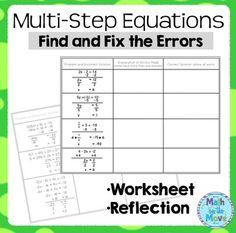 multi step equation word problems 28 task cards word problems task cards and equation. Black Bedroom Furniture Sets. Home Design Ideas